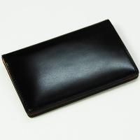 【生産中止モデル】ブレイリオ/Brelio コードバン 定期入れ No.4201 ブラック