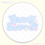 160626Mwh□FancySurprise!ロゴ【ミラー】ホワイト♥