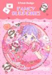 17013104■ハートチャイナバレンタイン♡♥缶バッチ