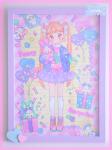 ★オリジナルフレーム&複製イラスト★16『Happy♥Surprise BOX■』
