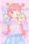 marshmallow♡candy☆ポストカード