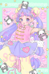 <img class='new_mark_img1' src='//img.shop-pro.jp/img/new/icons1.gif' style='border:none;display:inline;margin:0px;padding:0px;width:auto;' />娘々パンダシャワー&#9825;&#9829;☆ポストカード