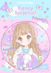 <img class='new_mark_img1' src='//img.shop-pro.jp/img/new/icons1.gif' style='border:none;display:inline;margin:0px;padding:0px;width:auto;' />&#9829;あいどるちっくな女の子とぱぴちゃんの缶バッチ