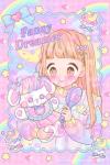 ♥Fancy Dreamer♡キラキラヘアーのおともだち☆ポストカード