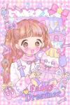 ♥Fancy Dreamer♡恥ずかしがりやなバレリーナのおともだち☆ポストカード