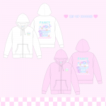 【Pre-order】Happimal Cream Sundae♡ZIP UP HOODIE 【March 31 start shipping】