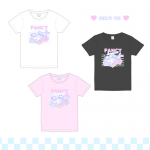 【Pre-order】 Happimal Cream 55♡GIRL'S TEE 【March 31 start shipping】