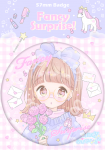 <img class='new_mark_img1' src='https://img.shop-pro.jp/img/new/icons1.gif' style='border:none;display:inline;margin:0px;padding:0px;width:auto;' />Sweet Pink Bouquet♡缶バッチ