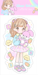 <img class='new_mark_img1' src='//img.shop-pro.jp/img/new/icons1.gif' style='border:none;display:inline;margin:0px;padding:0px;width:auto;' />透明ステッカー♡うさぎぴんく