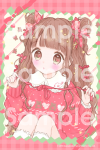 <img class='new_mark_img1' src='https://img.shop-pro.jp/img/new/icons1.gif' style='border:none;display:inline;margin:0px;padding:0px;width:auto;' />ポストカード♡女の子とリボン