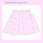 <img class='new_mark_img1' src='//img.shop-pro.jp/img/new/icons58.gif' style='border:none;display:inline;margin:0px;padding:0px;width:auto;' />009ASKSRRE Skater Skirt
