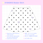 <img class='new_mark_img1' src='//img.shop-pro.jp/img/new/icons58.gif' style='border:none;display:inline;margin:0px;padding:0px;width:auto;' />019ASKS Skater Skirt
