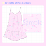 <img class='new_mark_img1' src='//img.shop-pro.jp/img/new/icons58.gif' style='border:none;display:inline;margin:0px;padding:0px;width:auto;' />027ACHC Chiffon Camisole