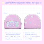 028ACVMP Happimal Friends mini pouch
