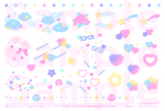 <img class='new_mark_img1' src='https://img.shop-pro.jp/img/new/icons1.gif' style='border:none;display:inline;margin:0px;padding:0px;width:auto;' />透明フィルムシール♡12