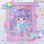<img class='new_mark_img1' src='https://img.shop-pro.jp/img/new/icons1.gif' style='border:none;display:inline;margin:0px;padding:0px;width:auto;' />019★木製フレーム付きイラスト★【壁掛けタイプ】A4サイズ