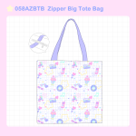 <img class='new_mark_img1' src='https://img.shop-pro.jp/img/new/icons1.gif' style='border:none;display:inline;margin:0px;padding:0px;width:auto;' />058AZBTB Zipper Big Tote Bag