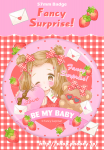■♡Be MY STRAWBERRY♥缶バッチ