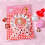 0131006R□♥Be MY STRAWBERRY♥ROSETTE