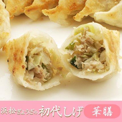 【浜松餃子】浜松ぎょうざの初代しげ 華膳 8個入り(箱なし)【105】