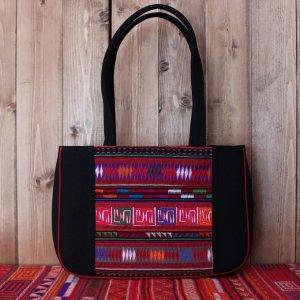 アカ族刺繍ショルダーバッグ