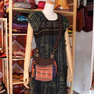 ナガ族刺繍ポシェット