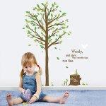 ウォールステッカー [緑の木]-(ps-58194)