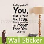 ウォールステッカー [英文字(today you are)]-(wch-142)