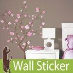 ウォールステッカー RoomMates 桜 [スプリングブラッサム]-(wja-085)