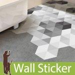 ウォールステッカー [六角形シール 10枚セット]-(wch-261) y4