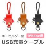 キーホルダー型iPhone充電ケーブル y1