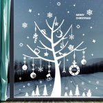 クリスマスウォールステッカー (fdx-2201)
