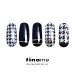 finome(フィノミー) ジェルネイルシール [ハウンドトゥース] y4