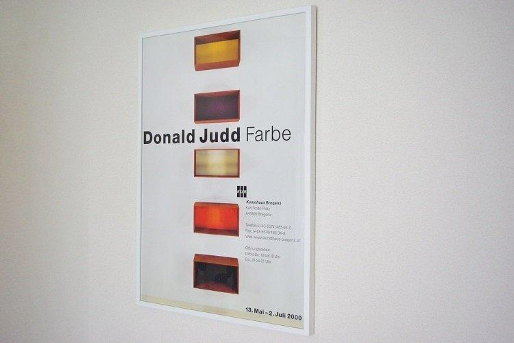 Donald Judd Poster Album ミッドセンチュリーのデザインを中心に生活が楽しくなる