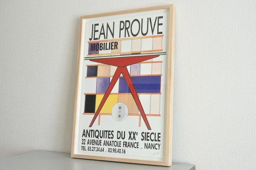 Poster(1980s)<br>Jean Prouve