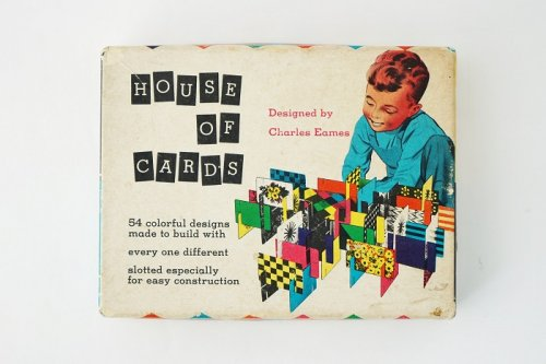 House of  Card <br>Charles & Ray Eames