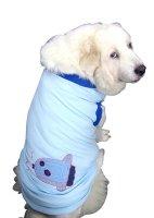 犬服 ドッグタンクトップ COOL鹿の子 マンボウ刺繍 【2Lサイズ(大型犬)】 メール便送料無料