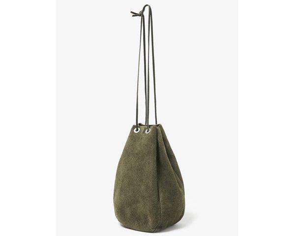 [hobo] Cow Leather Drawstring Bag