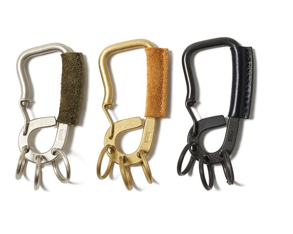 <img class='new_mark_img1' src='//img.shop-pro.jp/img/new/icons1.gif' style='border:none;display:inline;margin:0px;padding:0px;width:auto;' />[hobo] Brass Carabiner with Cow Leather
