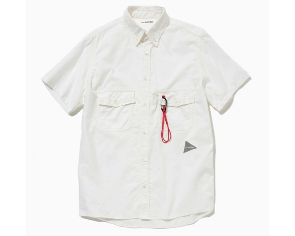 <img class='new_mark_img1' src='//img.shop-pro.jp/img/new/icons1.gif' style='border:none;display:inline;margin:0px;padding:0px;width:auto;' />[and wander] dry ox short sleeve shirt