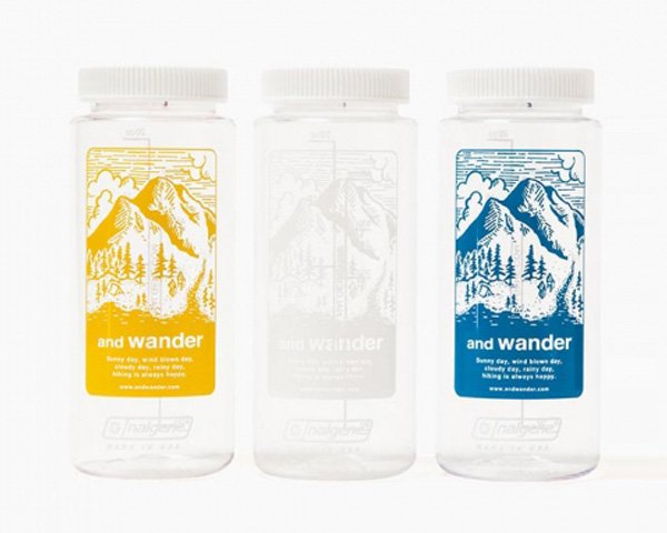 [and wander] and wander nalgene bottle