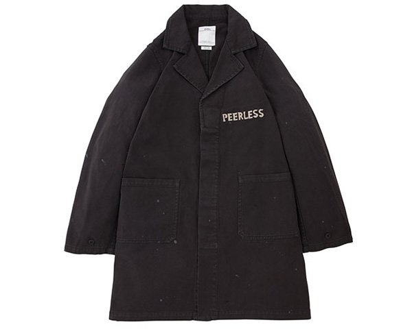 <img class='new_mark_img1' src='//img.shop-pro.jp/img/new/icons1.gif' style='border:none;display:inline;margin:0px;padding:0px;width:auto;' />[visvim] PEERLESS SHOP COAT