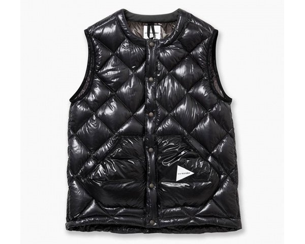<img class='new_mark_img1' src='//img.shop-pro.jp/img/new/icons1.gif' style='border:none;display:inline;margin:0px;padding:0px;width:auto;' />[and wander]   diamond stitch down vest