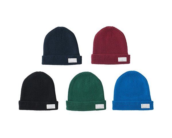 <img class='new_mark_img1' src='//img.shop-pro.jp/img/new/icons1.gif' style='border:none;display:inline;margin:0px;padding:0px;width:auto;' />[visvim] KNIT BEANIE (COTTON)