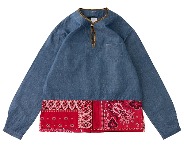 <img class='new_mark_img1' src='//img.shop-pro.jp/img/new/icons1.gif' style='border:none;display:inline;margin:0px;padding:0px;width:auto;' />[visvim]SS BORDER TUNIC P.O.