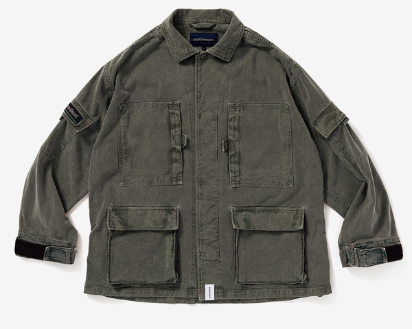 <img class='new_mark_img1' src='//img.shop-pro.jp/img/new/icons1.gif' style='border:none;display:inline;margin:0px;padding:0px;width:auto;' />[DESCENDANT] DWU TWILL JACKET