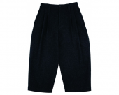 <img class='new_mark_img1' src='//img.shop-pro.jp/img/new/icons1.gif' style='border:none;display:inline;margin:0px;padding:0px;width:auto;' />[PORTER CLASSIC] WOOL & GAUZE WIDE PANTS