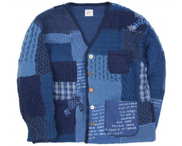 <img class='new_mark_img1' src='https://img.shop-pro.jp/img/new/icons50.gif' style='border:none;display:inline;margin:0px;padding:0px;width:auto;' />[PORTER CLASSIC] H/W PATCHWORK KNIT CARDIGAN