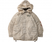 <img class='new_mark_img1' src='//img.shop-pro.jp/img/new/icons1.gif' style='border:none;display:inline;margin:0px;padding:0px;width:auto;' />[visvim] VALDEZ COAT COLLAGE -IVORY-