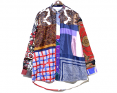 <img class='new_mark_img1' src='//img.shop-pro.jp/img/new/icons1.gif' style='border:none;display:inline;margin:0px;padding:0px;width:auto;' />[Children of the discordance] VINTAGE SCARF SHIRT LS